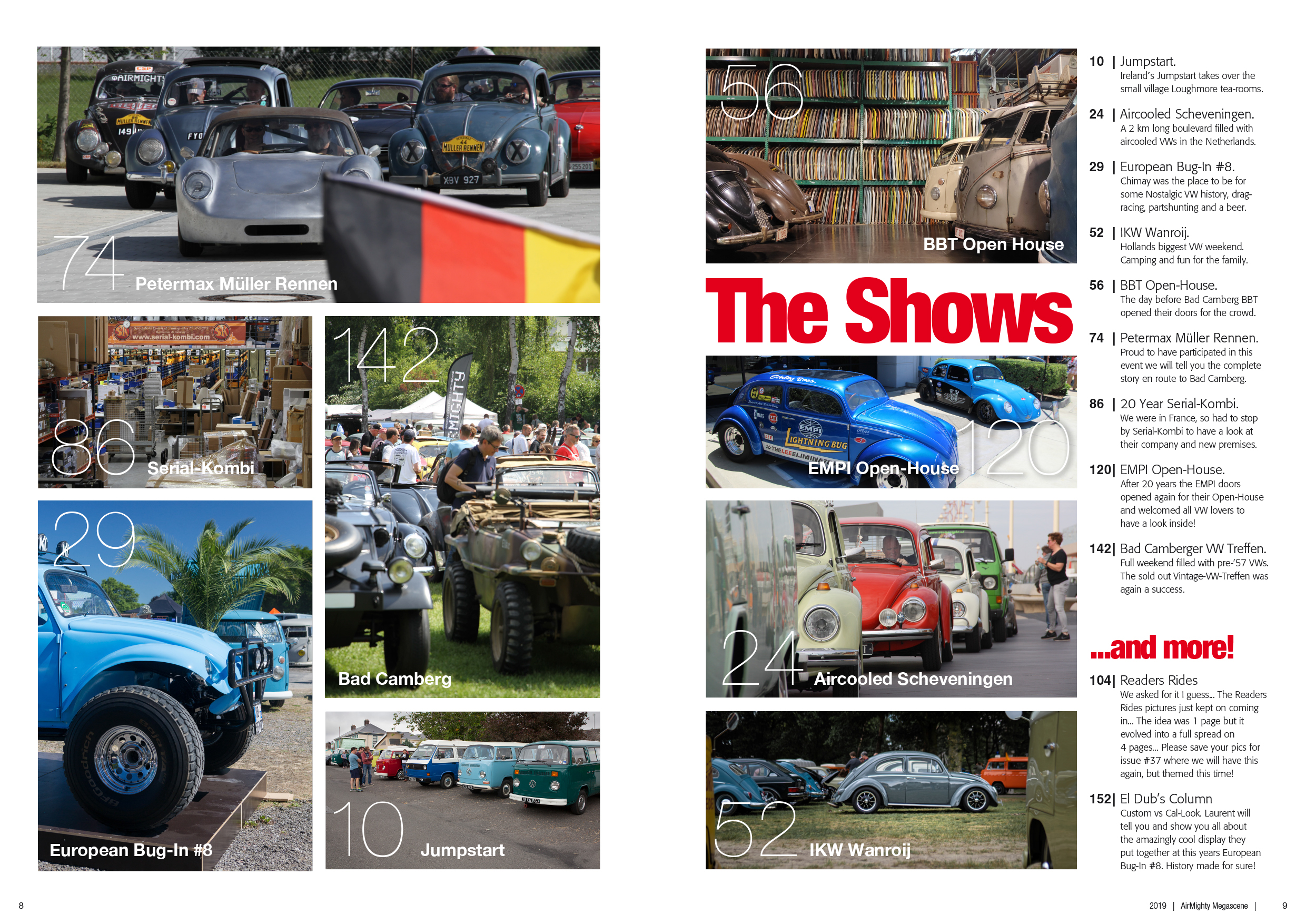 Issue #36 > SHOWS