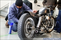 Visit at: 'Brat Style' Motorcycles, Japan